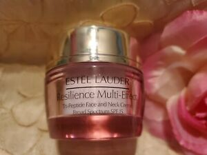ESTEE LAUDER-RESILIENCE MULTI-EFFECT TRI-PEPTIDE FACE AND NECK CREME-.5 OZ.-NEW!