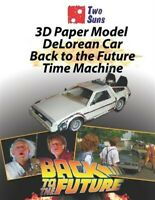 3D Paper Model Delorean Car Back to the Future Time Machine: Make Your Own To...
