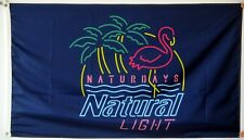 Naturdays Natural Light Banner Flag 3x5Feet Man Cave