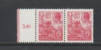 DDR Michel-Nr. 375 ** postfrisch - waagerechtes Paar
