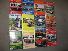 CAR COLLECTOR & CAR CLASSICS MAGAZINE BACK ISSUES 12 TOTAL SOLD AS LOT