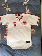Johnny Bench Authentic Cincinnati Reds Majestic Cooperstown Collection Jersey