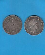 /Gertbrolen/ 5 Francs argent Louis-Philippe Tranche en relief 1830 Paris