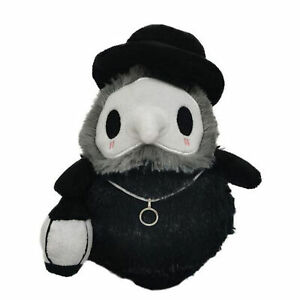 Props Hand GLOW IN DARK Plague Doctor Toys Soft Plush Doll Halloween Gift