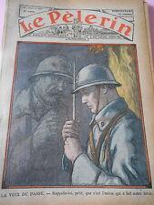 La Voix du Passé c'est l'union qui a fait notre force dessin Print 1936