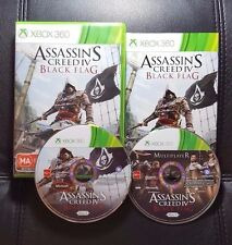 Assassins Creed IV 4 Black Flag (Microsoft Xbox 360, 2013) Xbox 360 Game - VGC