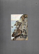 Capstone Parade Ilfracombe Devon tinted 1906 postmark posted local publisher