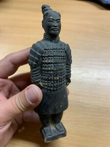 "VINTAGE TERRACOTTA ARMY FIGURE 6.25""-TALL (P3)"