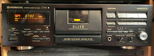 Pioneer CT-43 3 Head Dolby B C S Elite Super BLE HX PRO Rare New Belts New Motor