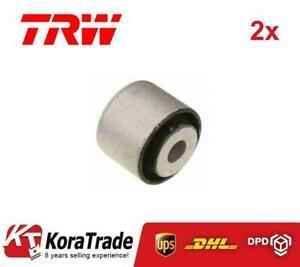 2x TRW JBU671 INNER CONTROL ARM TRAILING ARM BUSH X2 PCS