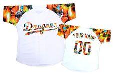 Custom Baseball Jersey Any size Special design Orange