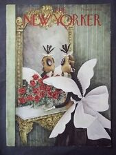 Vintage New Yorker Magazine (COVER ONLY) July 18 1942 - Mary Perry art