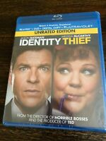 Identity Thief (Blu-ray/DVD, 2013, 2-Disc Set, Unrated EDITION FACTORY SEALED!