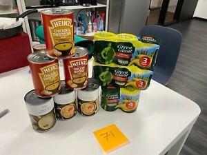 Canned food bundle