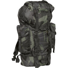 Brandit Bw Military Urban Combat Rucksack Tactical 65L Army Backpack Dark Camo