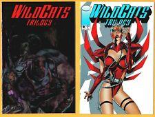 2 WildCats Trilogy-Image Comic Book Lot- #s 1 & 2(1993)