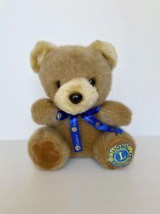 Korimco Lions International teddy bear 25cm soft toy plush toy