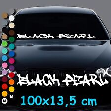 A52# Aufkleber BLACK PEARL Limited Edition Frontscheibe Tuning Auto Sticker DUB
