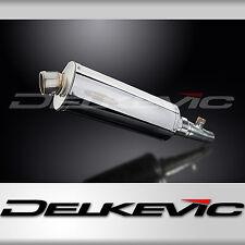 "Honda Silver Wing FSC600 14"" Stainless Oval Muffler Exhaust 02-09 10 11 12 13"