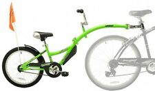 Pull Along Pilot Bike Bicycle For Kids Mom Dad Steering Wheel Cycle Trip Fit
