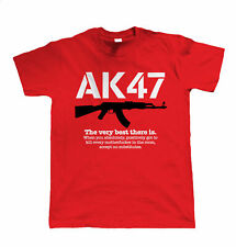 AK47 The Very Best There Is, Mens Gamer, Paintball or Airsoft T Shirt, Gift Men