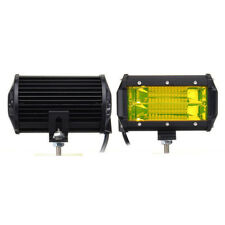 5inches Waterproof Amber 72W LED Spot Light Floodlight Car Boat Truck