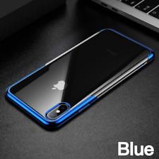 Baseus Clear Luxury PC Plating Protective Case Hard Cover for iPhone XS