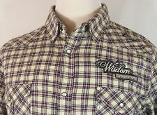 Men's Blac Label Flannel Shirt Tag XL Chest = L New With Tags! Intl Welcome!