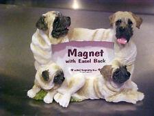 mastiff magnet picture frame & easel back # 7