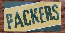 Green Bay Packers Car Magnet Made In The USA Football Sports Decor Waterproof