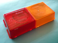 Rubbolite 3 Way Rear Lamp Replacement Lens - Ifor Williams Trailers