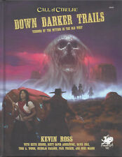 Call of Cthulhu Down Darker Trails HC NEW Chaosium COC CHA23151 Old West 15% OFF