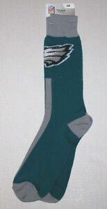 Nwt New Philadelphia Eagles Logo Socks NFL Football Mid Calf Green Unisex Adult