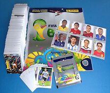 PANINI WM 2014 Brazil 2014 - Komplettset Platinum Schweiz + Album + Updates