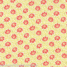20234 29 MODA Fabric ~ SOMERSET ~ by Fig Tree by the 1//2 yard Cream Poppy