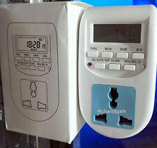 1MIN -24 HRS DIGITAL POWER SAVING TIMER SWITCH/SOCKET.  ELECTRICITY SAVER