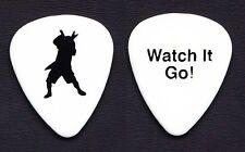 Pantera Dimebag Darrell Watch It Go! Silhouette White Guitar Pick