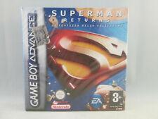 Nintendo Gameboy Advance GBA - Superman Returns NEW SEALED