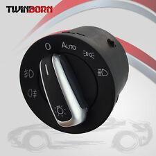Chrome VW Jetta MK5 CC B6 Euro Tiguan Golf  EOS Head Light Switch Control Fog