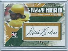 2011 ITG Heroes & Prospects Dave Parker HERO AUTO AUTOGRAPH PIRATES