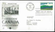 First Day of Issue - Centennial Canada Confederation - Expo 67 - Montreal - 1967
