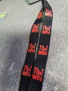 the who lanyard/key holder