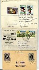 World covers and FDC 1953-77 collection, Antigua (Registered), Nepal, St. Helena