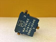 Microwave Assoc MA-7K162 (HP 0960-0046) SMA (F) Coaxial Circulator
