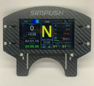 SIMPUSH Thrustmaster Wheel Base  Phone Dash Holder  mount  simhub dashboard