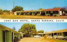 Santa Barbara California Lone Oak Motel Multiview Vintage Postcard K91583