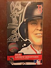 BALLERS Andrew Benintendi Action Figure SPORTS CRATE Boston Red Sox Brand New