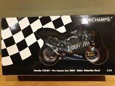 Valentino Rossi MINICHAMPS 1/12 YAMAHA YZR M1Test Bike 122043946