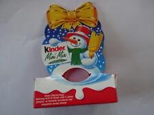 """Ferrero 1er Pack """" Weihnachten - Kinder Mix - Schneemann -  ohne Inhalt"""