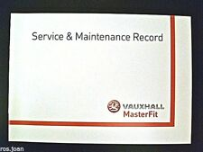 Vauxhall Astra Van & Sportive Service Book History Record Brand New Genuine